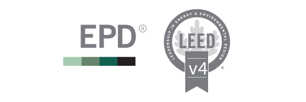 EPD's and LEED V4 Certifications icons